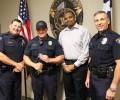Calm response to dog bite earns officer praise from resident