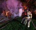 No injuries inearly morning house fire