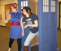 Doctor Who fans gather at the Library