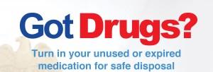 National Drug Take-back Day April 30