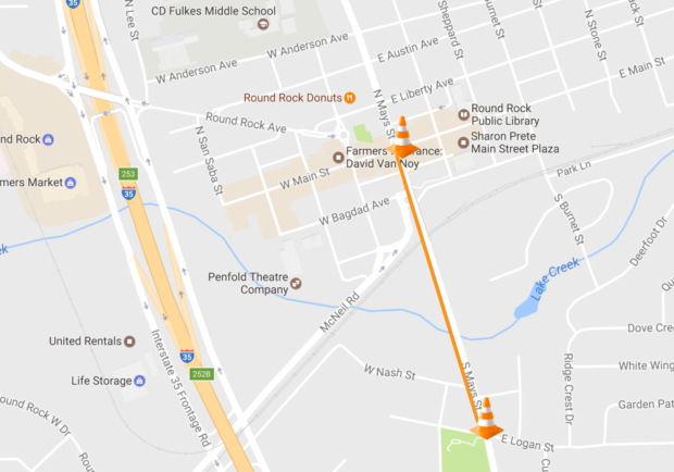Mays Street to be closed at Baylor Bridge for dedication ceremony Jan. 22