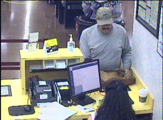 Police seek man who robbed bank on Monday
