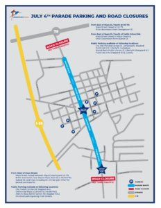 July 4th Parade features earlier start time this year