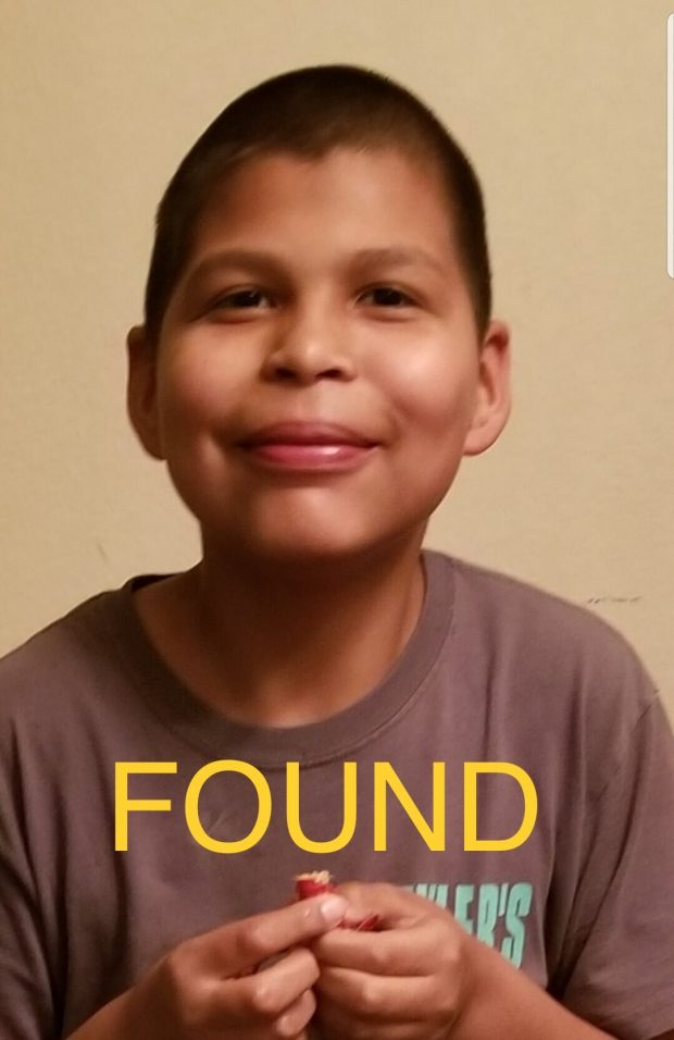 Police locate missing autistic teenager