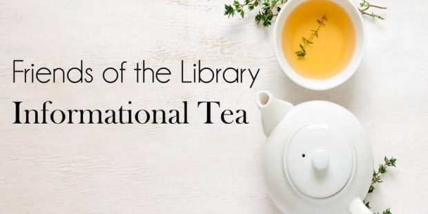 Friends of the Library Informational Tea