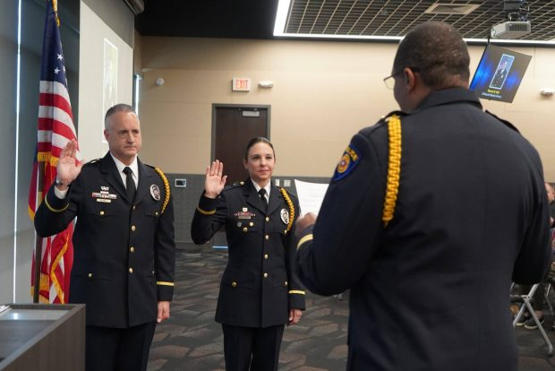 Police Department promotes five Officers