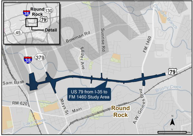 TxDOT to host virtual public hearing for US 79 road project