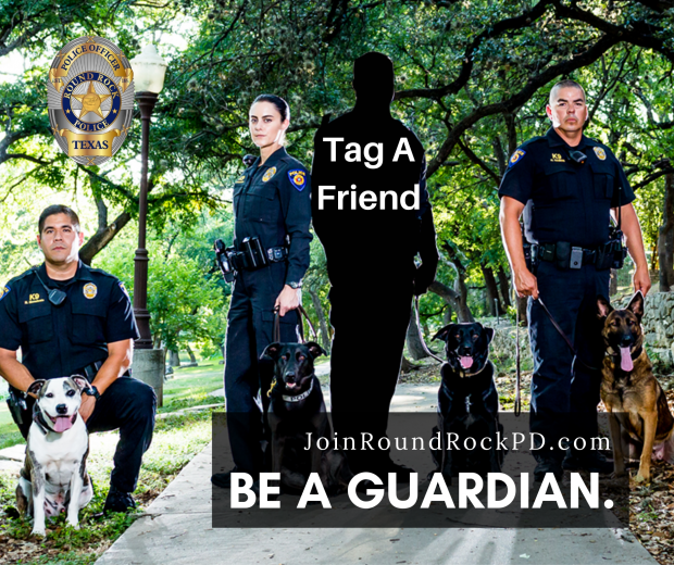 Now Hiring Police Cadets