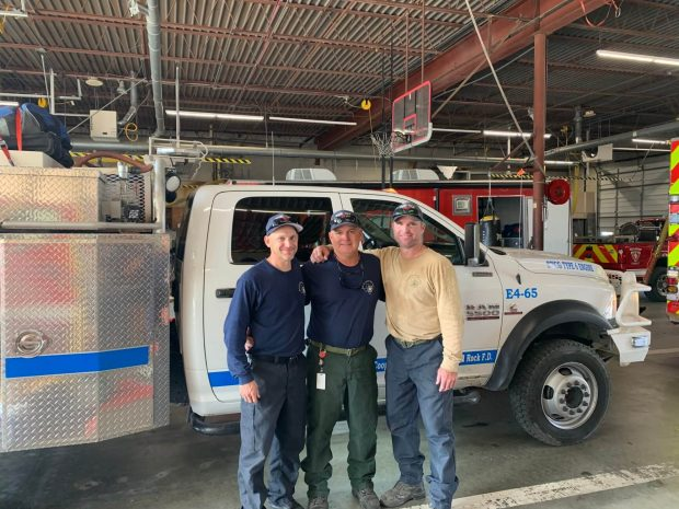 Round Rock firefighters deployed to California wildfires