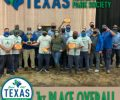 Parks Maintenance Team wins first place overall at the Texas Recreation and Park Society annual Maintenance Rodeo
