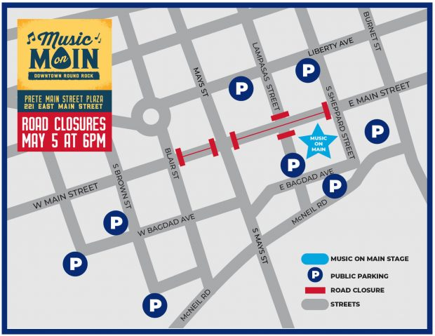 Downtown road closures scheduled Wednesday, May 5