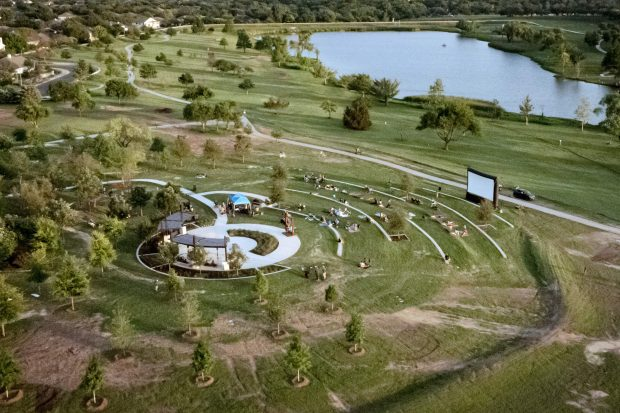 New feature opens in Old Settlers Park