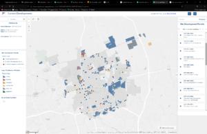 City updates Current Development map