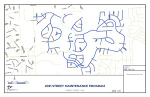 City Council approves street maintenance contract for Forest Creek subdivision