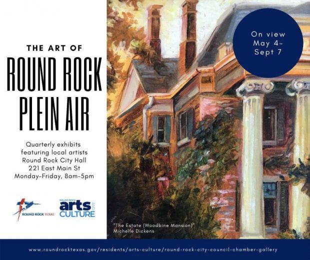 Round Rock Plein Air exhibit through September 7