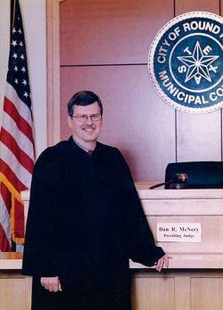 City dedicates Municipal Courtroom to Dan McNery