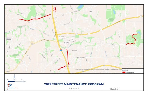 City Council approves $3.3 million for arterial road improvements