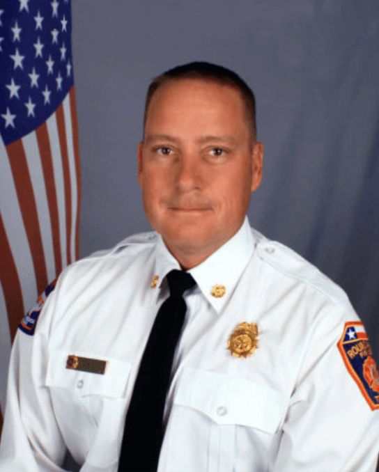 Glaiser named Interim Chief for Fire Department
