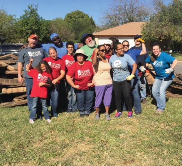 "Volunteers set to ""Love the Rock"" on Oct. 23"