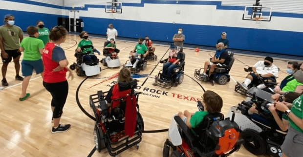 Round Rock Parks and Recreation Department partners with nonprofit to create first competitive power soccer team in Central Texas